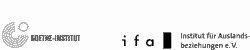 Goethe Institute and ifa Stuttgart logos