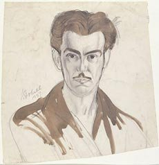 William Dobell 1937 self portrait