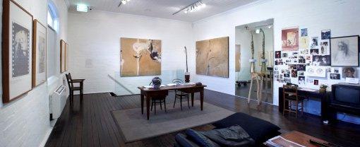 Brett Whiteley Studio upstairs