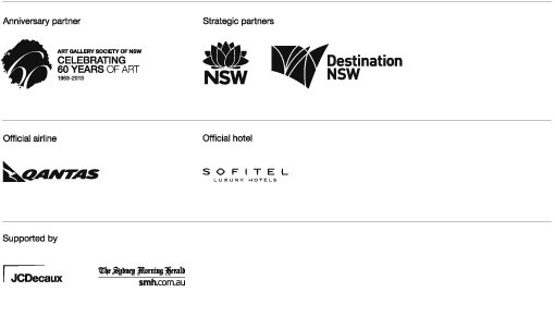 Sydney Moderns sponsors logos