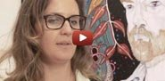 Still of Del Kathryn Barton from Archibald Prize video