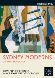 Sydney Moderns children trail cover image