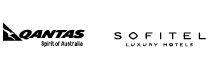 Qantas and Sofitel logos