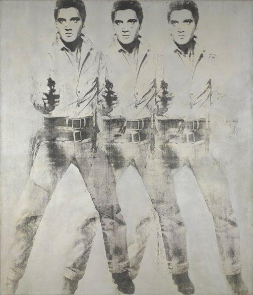 Andy Warhol, Triple Elvis, 1963