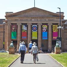 Art Gallery of NSW main entrance