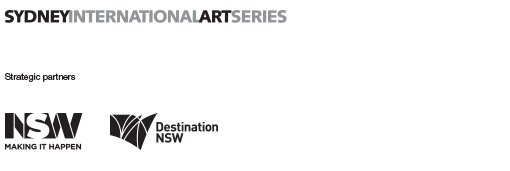 Sydney International Art Series. Strategic partners NSW Making It Happen and Destination NSW