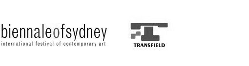 Logos of Biennale of Sydney International Festival of Contemporary Art and Transfield