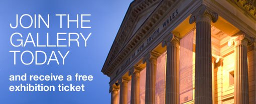 Join the Gallery today and receive a free exhibition ticket