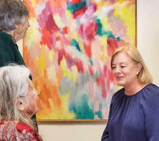 looking at paintings brings pleasure for people living with dementia