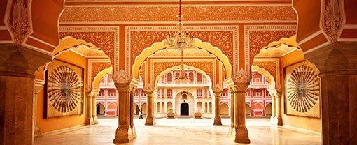 A Jaipur palace