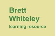 Brett Whiteley learning resource