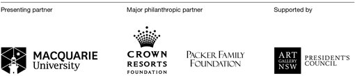 Macquarie University, Crown Resorts Foundation, Packer Family Foundation, Art Gallery of NSW President's Council