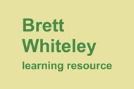 Brett Whiteley learning resource