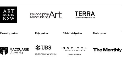 Art Gallery of NSW, Philadelphia Museum of Art, Terra, Macquarie University, UBS, Sofitel, The Monthly