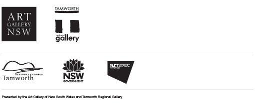 Art Gallery of NSW, Tamworth Regional Gallery, Tamworth Regional Council, NSW Government, Artstate Tamworth 2019. Presented by the Art Gallery of New South Wales and Tamworth Regional Gallery