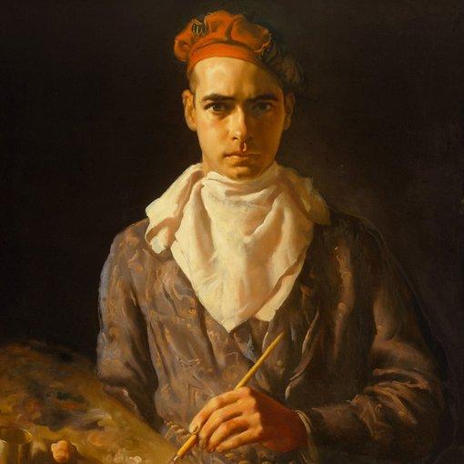 Norman Baker's Archibald Prize 1937 self-portrait