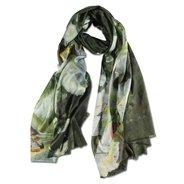 Arthur Streeton, Lilium Auratum Silk Scarf,  - $145.00