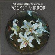 Arthur Streeton, Lilium Auratum Pocket Mirror,  - $7.95