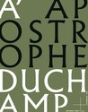 Apostrophe Duchamp, Edward Colless - $35.00