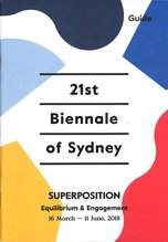 21st Biennale of Sydney 2018 Exhibition Guide,  - $5.00