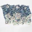Coastal Map Wool Scarf, National Palace Museum, Taipei - $125.00