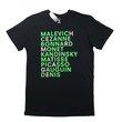 Hermitage T Shirt : Standard Cut (Green/Pink),  - $25.00