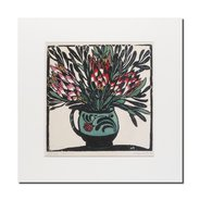 Margaret Preston, Protea mounted print,  - $29.95