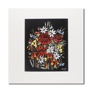 Margaret Preston, Waratahs etc mounted print,  - $29.95