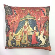 My Sole Desire: Lady and the Unicorn Cushion Cover,  - $65.00