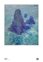 Needle of Port Coton, Belle-Ille John Russell Poster Print, John Peter Russell - $25.00
