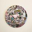 Pocket Mirror Murakami Toad,  - $10.00