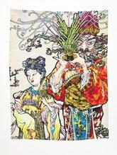 Tea Towel Murakami Man ,  - $45.00