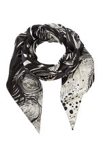 Aje x Brett Whiteley Studio Silk Scarf : The Starry Night, Brett Whiteley - $195.00