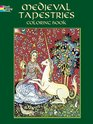 Medieval Tapestries Colouring Book, Marty  Noble - $8.00