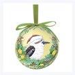 La La land Bauble : Kookaburra Wreath,  - $11.50