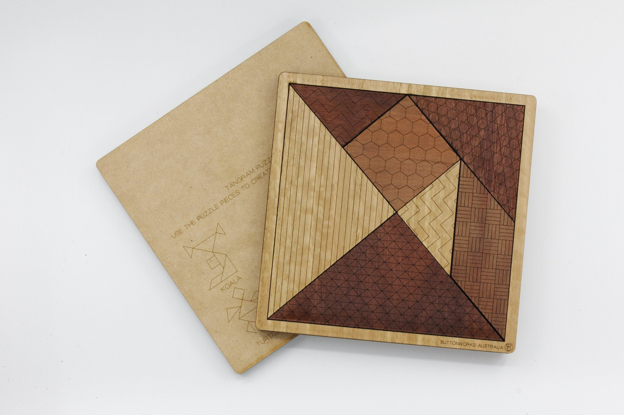 Tangram Wooden Puzzle :: Gallery shop :: Art Gallery NSW