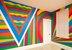 Wall drawing #1091 at home  This work was initially installed in June 2003 in the Sydney home of art collector John Kaldor, as seen in this photograph. It was drawn by trained drafters from the LeWitt estate: Lucinda Chambers, Stephen Stocks and Sachiko Cho.