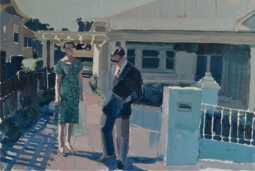 Clara Adolphs (NSW, b1985) High noon 2012 oil on canvas, 68 × 100 cm