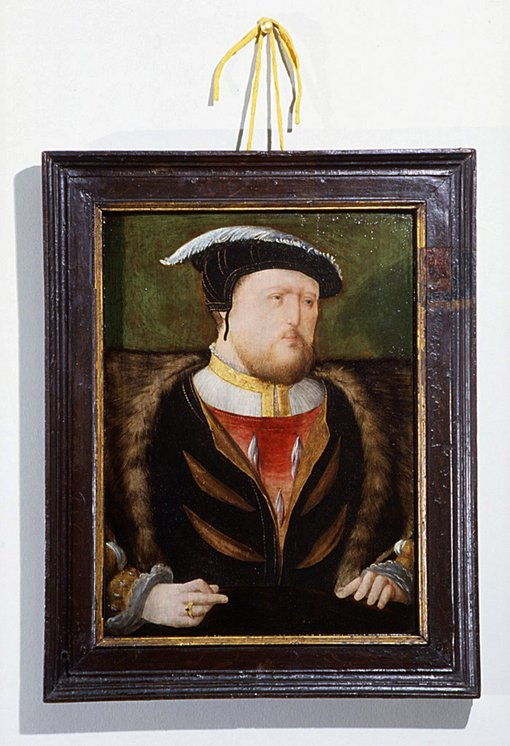 The National Portrait Gallery's Henry VIII in its original frame.