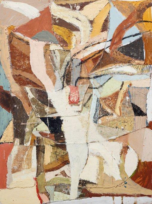 Winner  James Drinkwater (NSW, b1983)Port de bra 2014oil on board, 122 × 92 cm