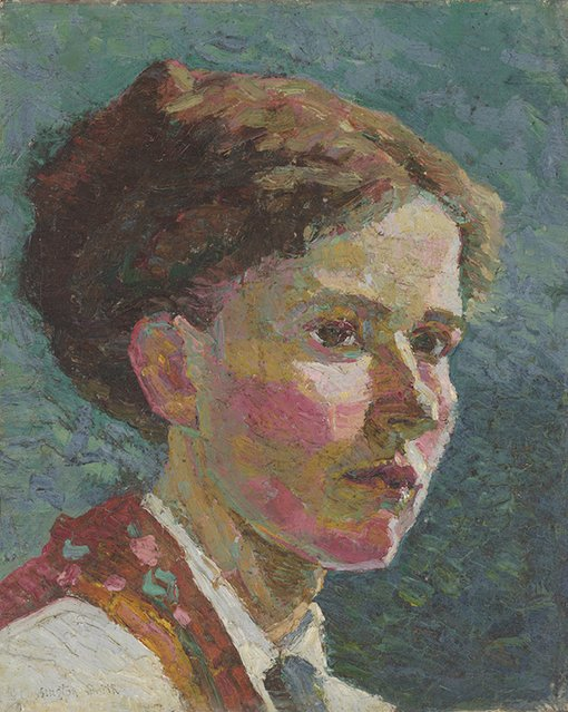 Grace Cossington SmithStudy of a head: self-portrait 1916National Gallery of Australia, Canberra. Purchased with funds from the Marieand Vida Breckenridge Bequest 2010© Estate of Grace Cossington Smith