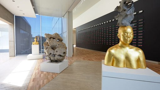 a view inside Upper Asian gallery