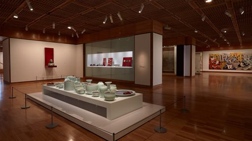 a view inside Lower Asian gallery