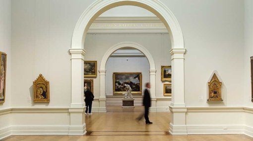 a view inside 15th–19th c European art