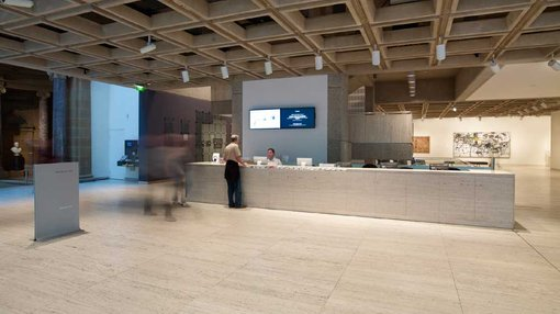 A View Inside Ticketing And Information Desk