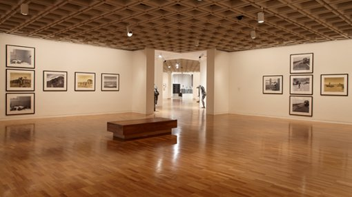 a view inside Photography gallery
