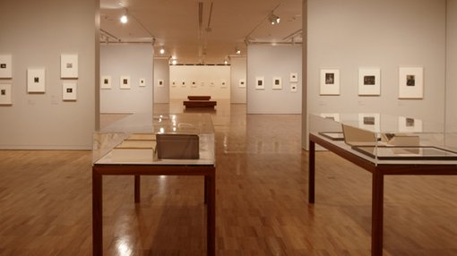 a view inside Temporary exhibitions gallery