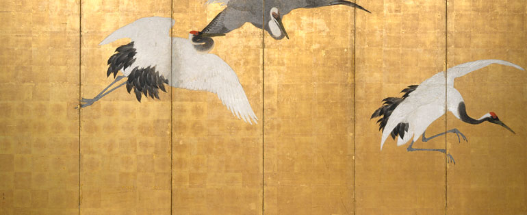 The Art Of Japanese Screen Painting Art Gallery Nsw