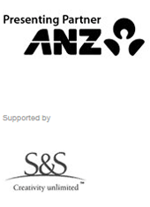 Presenting partner ANZ. Supported by S&S creativity unlimited.